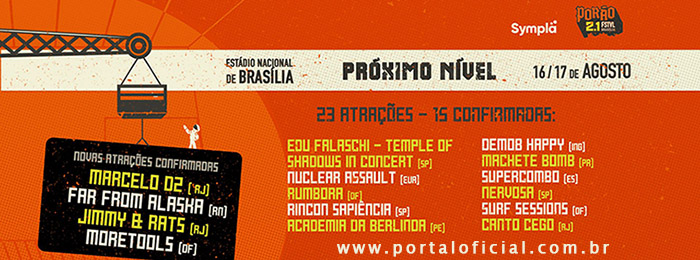 FESTIVAL PORÃO DO ROCK 2019